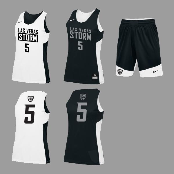 Nike Reversible Game Uniform – Las Vegas Storm Basketball e8c264970